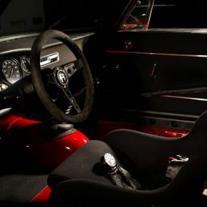 Alfa Romeo GTA Rennfahrzeuginterieur